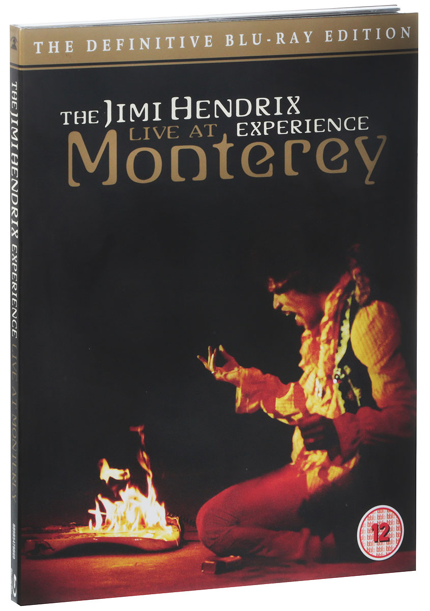 Hendrix Experience: Live At Monterey (The Definitive Edition) (Blu-ray) zz top live at montreux 2013 blu ray