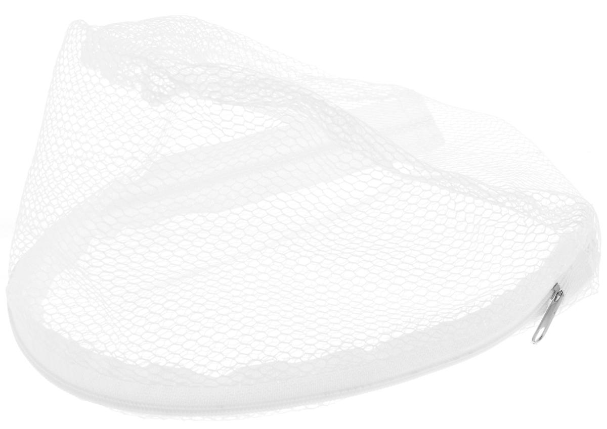 Мешок для стирки бюстгальтеров Eva, цвет: белый контейнер для стирки бюстгальтеров bradex леди бра