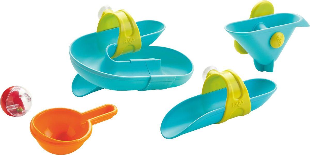 Haba Набор игрушек для ванны Горки haba вешалка крючок haba бабочка фани арт 8598