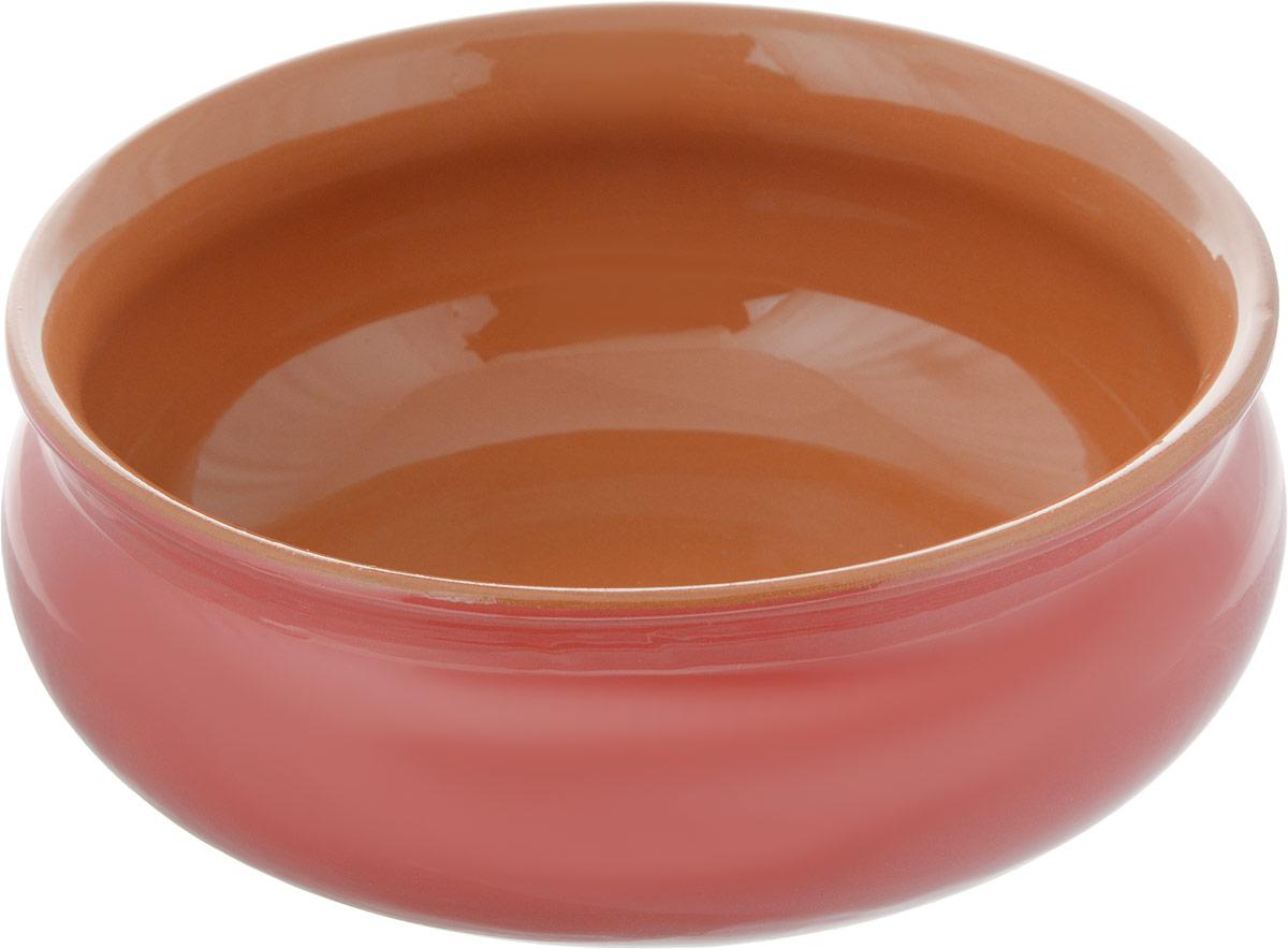 Тарелка глубокая Борисовская керамика Скифская, цвет: коралловый, коричневый, 500 млРАД14458194_коралловый, коричневыйГлубокая тарелка Борисовская керамика Скифская выполнена из керамики. Изделие сочетает в себе изысканный дизайн с максимальной функциональностью. Она прекрасно впишется в интерьер вашей кухни и станет достойным дополнением к кухонному инвентарю. Такая тарелка подчеркнет прекрасный вкус хозяйки и станет отличным подарком. Можно использовать в духовке и микроволновой печи.Диаметр тарелки (по верхнему краю): 14 см.Объем: 500 мл.