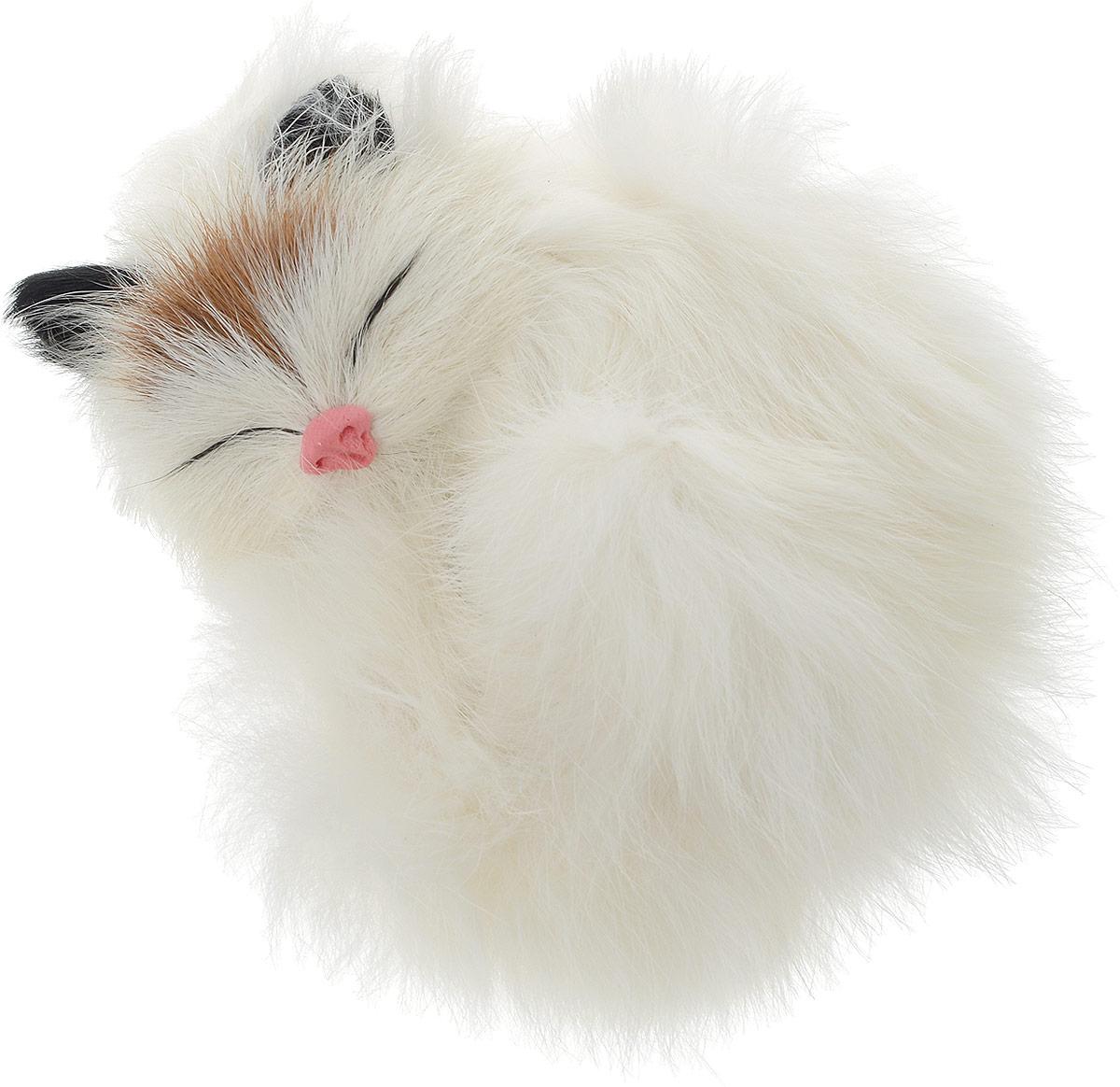 Vebtoy Фигурка Котенок в клубочке цвет белый C225 vebtoy фигурка котенок сидящий цвет белый c226
