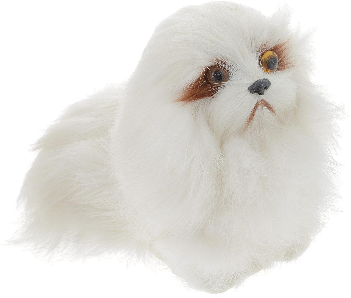 Vebtoy Фигурка Собака сидячая цвет белый