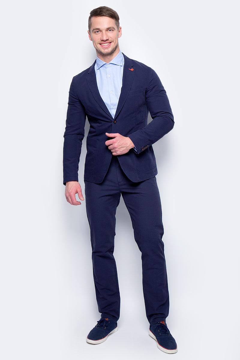 Пиджак муж United Colors of Benetton, цвет: темно-синий. 2DD8525L8_903. Размер 522DD8525L8_903