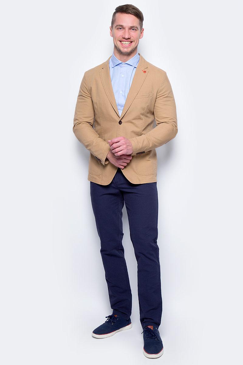 Пиджак мужской United Colors of Benetton, цвет: бежевый. 2DD8525L8_901. Размер 56