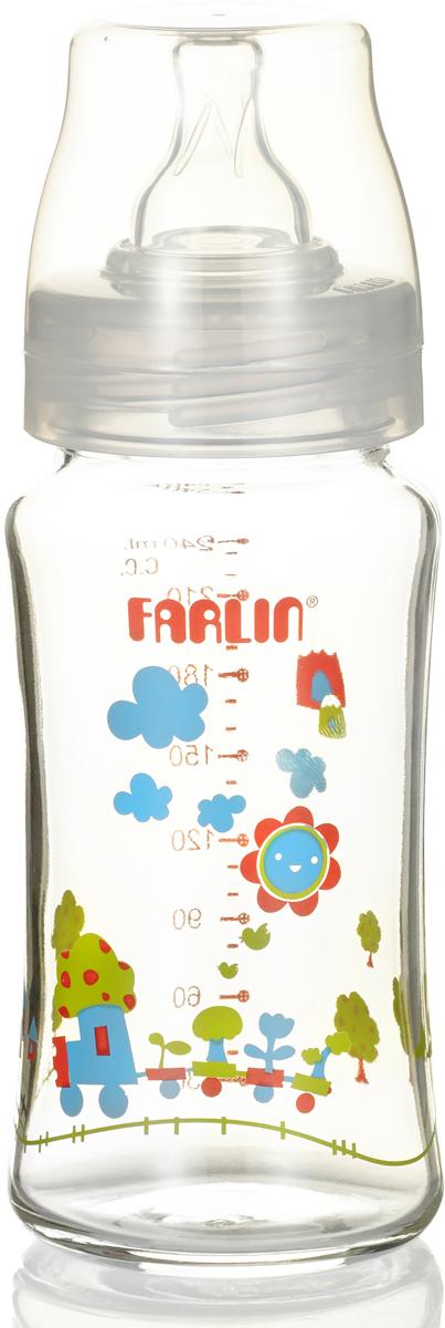 Farlin Бутылочка для кормления с широким горлышком 240 мл