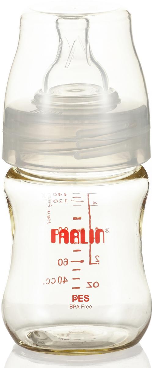 Farlin Бутылочка для кормления с широким горлышком 140 мл