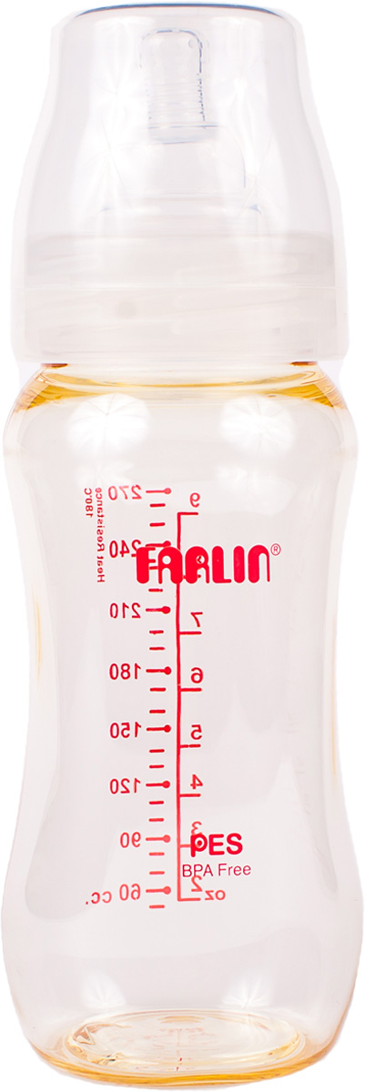 Farlin Бутылочка для кормления с широким горлышком 270 мл