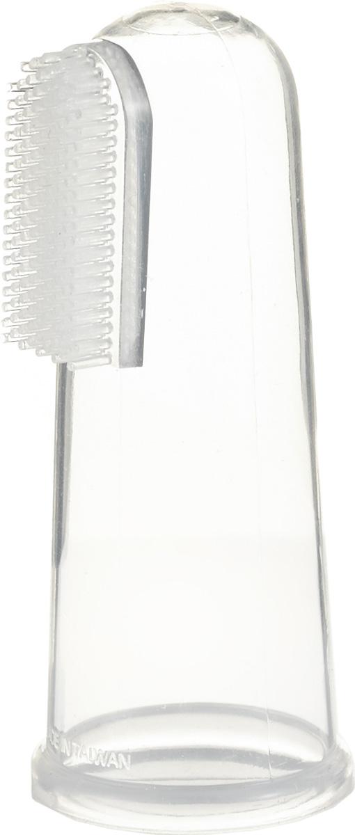 Farlin Детская силиконовая зубная щетка-массажерBF-117Щетка для самых маленьких. Выполняет три функции: очищает первые зубки, очищает всю полость рта, массирует десны. Помогает снять зуд при прорезывании зубов. Массирование десен и чистка зубов осуществляется с помощью щетки, надетой на палец взрослого.