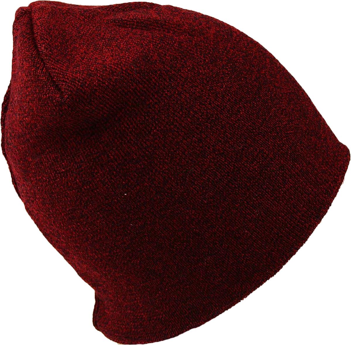 Шапка женская Venera, цвет: бордовый. 9806856/1. Размер универсальный9806856/1 ШапкаСтильная женская шапка Venera, выполненная из комбинированной пряжи, станет отличным дополнением вашего образа в холодную погоду. Шапка Venera - это универсальный и очень практичный аксессуар.