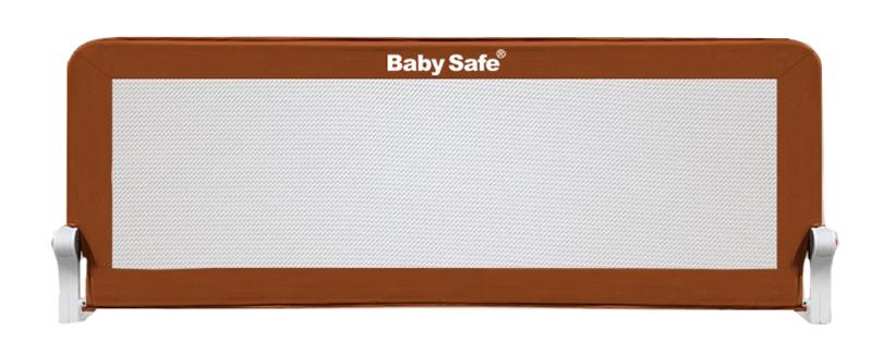 Baby Safe Барьер для кроватки 120 х 66 см цвет коричневый - Безопасность ребенка
