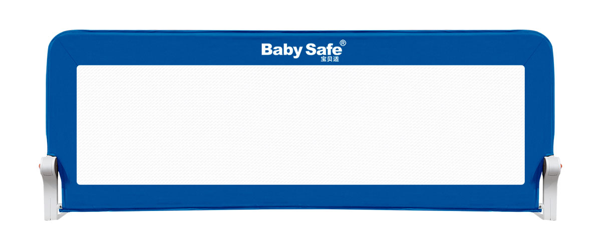 Baby Safe Барьер для кроватки 180 х 42 см цвет синий