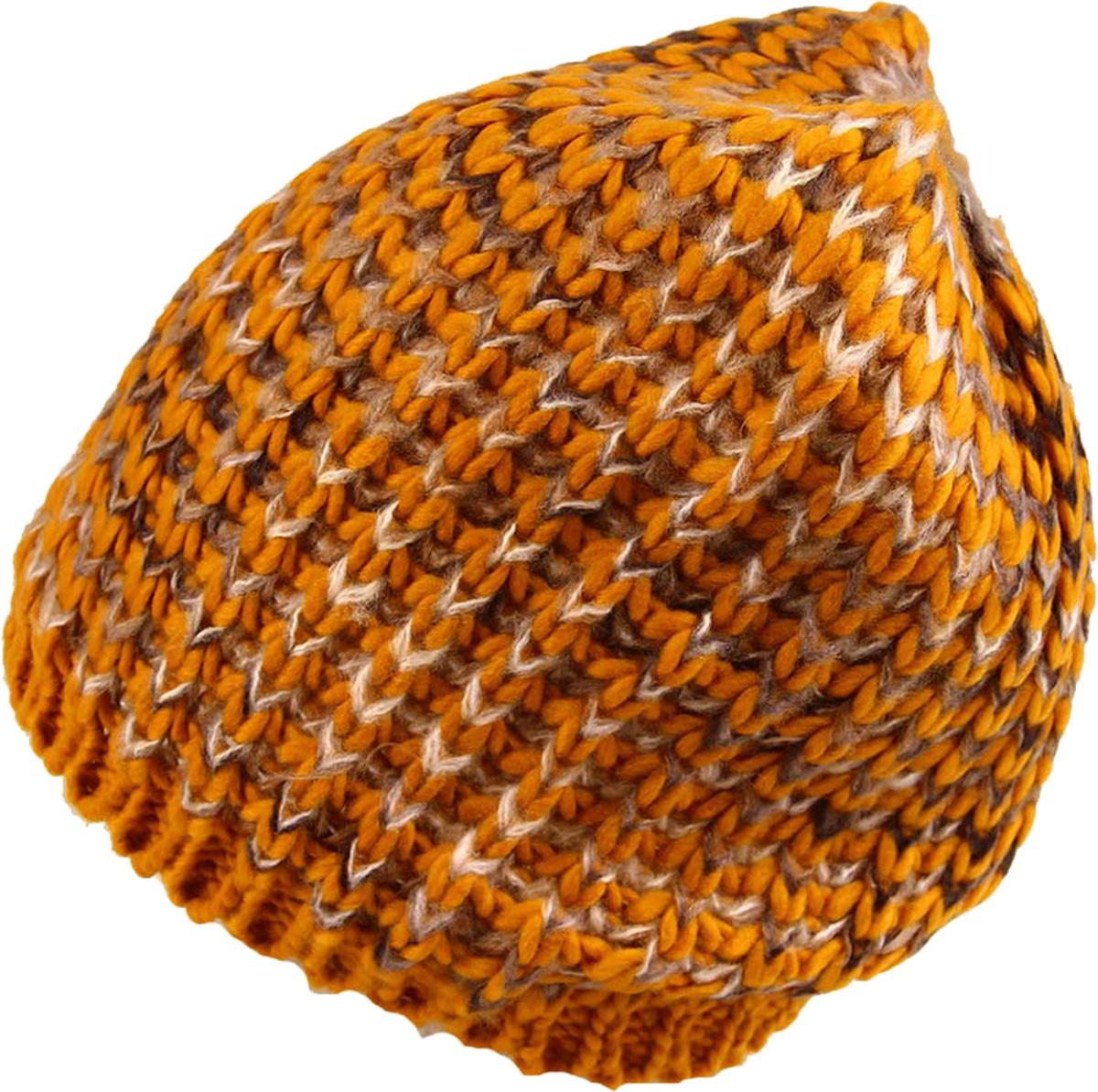 Шапка женская Venera, цвет: желтый, бежевый, белый. 9806456-22. Размер универсальный9806456-22 ШапкаСтильная женская шапка Venera, выполненная из комбинированной шерстяной пряжи, станет отличным дополнением вашего образа в холодную погоду. Широкая резинка по низу изделия обеспечивает удобную посадку и идеальное облегание. Шапка Venera отлично дополнит ваш повседневный образ, это универсальный и очень практичный аксессуар.