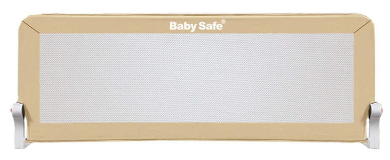Baby Safe Барьер для кроватки 180 х 66 см цвет бежевый baby safe барьер для кроватки ушки 180 х 42 см цвет синий