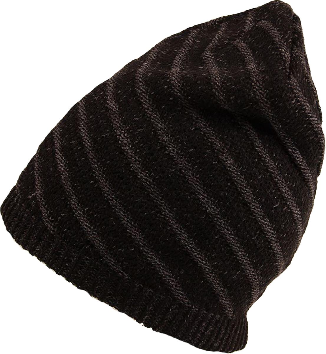 Шапка женская Venera, цвет: черный, бежевый. 9806256-02/1. Размер универсальный9806256-02/1 ШапкаСтильная женская шапка Venera, выполненная из комбинированной шерстяной пряжи, станет отличным дополнением вашего образа в холодную погоду. Широкая резинка по низу изделия обеспечивает удобную посадку и идеальное облегание. Шапка Venera отлично дополнит повседневный образ и молодой девушки, и женщины любого возраста, это универсальный и очень практичный аксессуар.