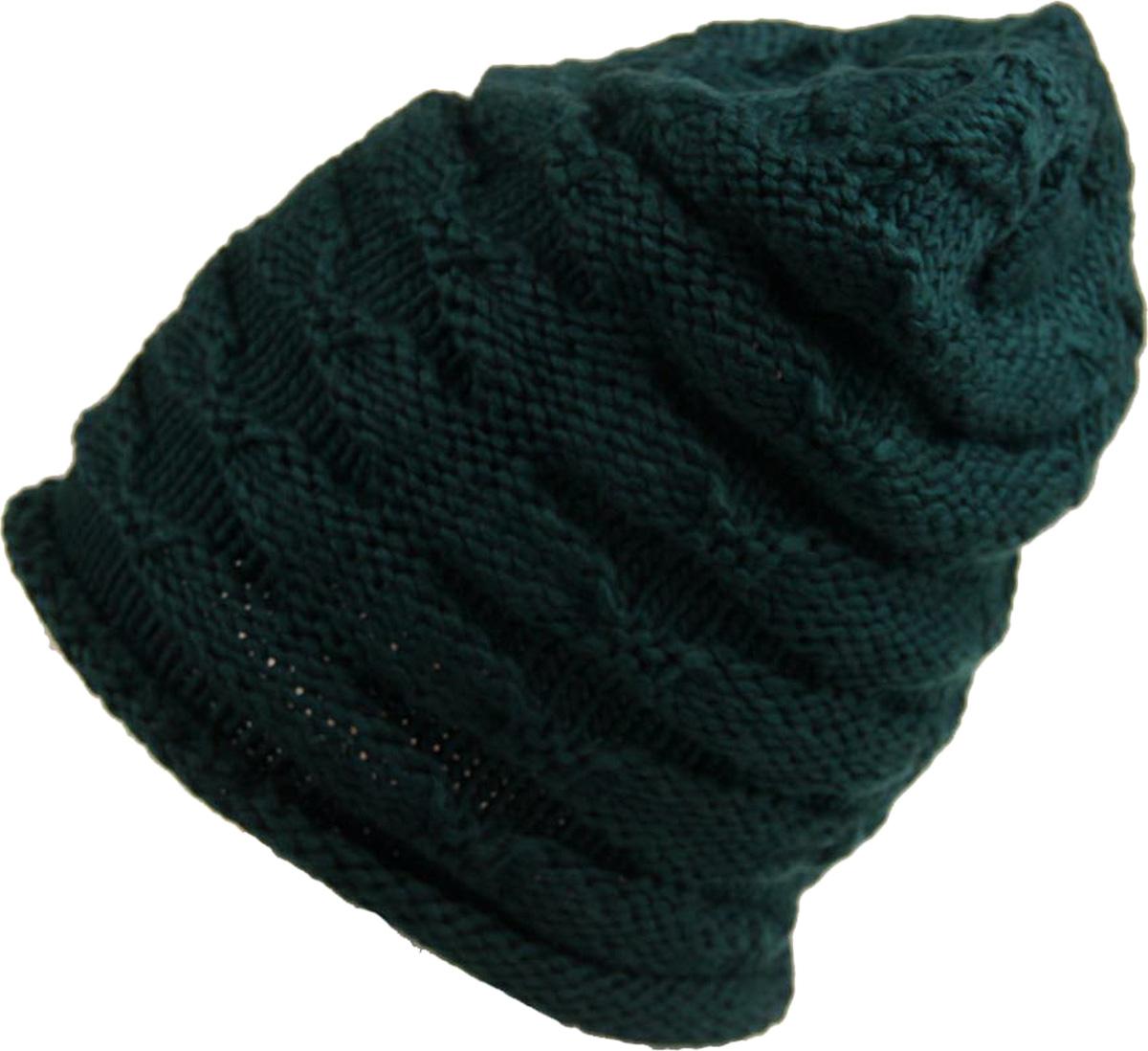 Шапка женская Venera, цвет: зеленый. 9806156-14. Размер универсальный9806156-14 ШапкаСочетание простой и декоративной вязки создает уникальное изделие. Выпуклый вязаный принт привлекает внимание своей необычностью. С такой шапочкой вы будете выглядеть стильно. Модель представлена в нескольких расцветках.