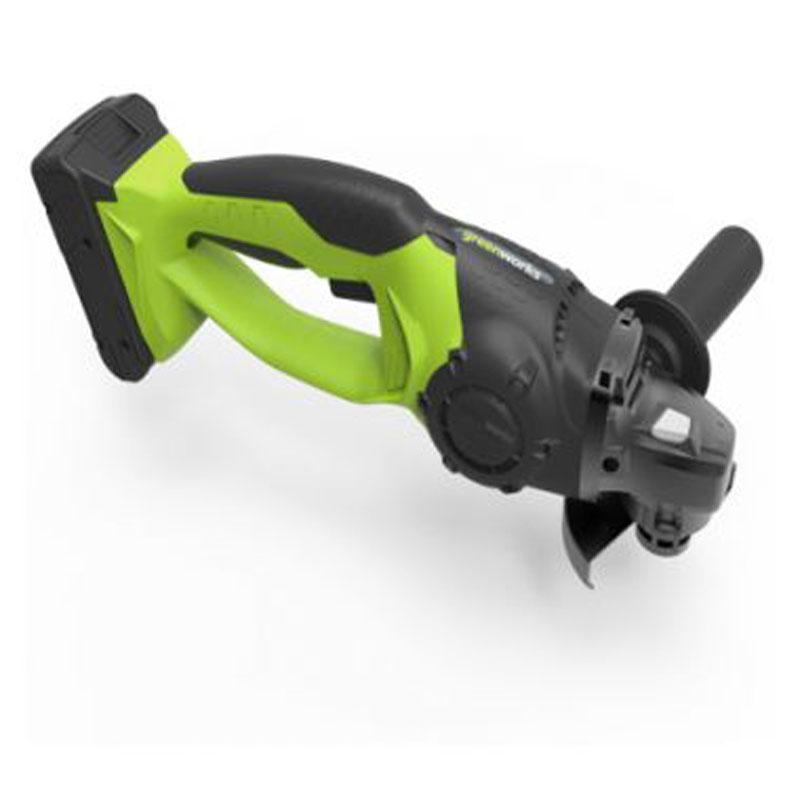 Угловая шлифовальная машина, аккумуляторная Greenworks 24V 32000073200007 Защита от перегреваЗащита от перегрузок