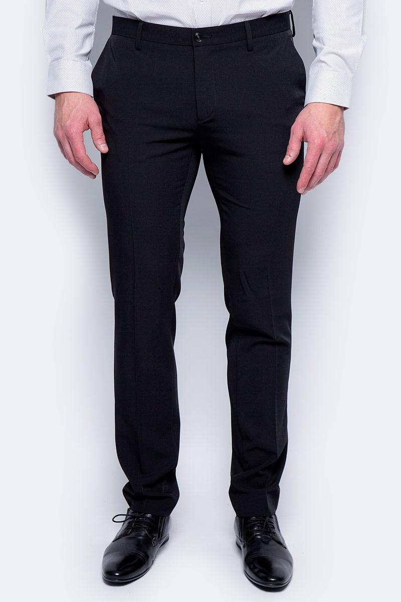 Брюки мужские United Colors of Benetton, цвет: черный. 4AZZ55678_100. Размер 46 брюки united colors of benetton брюки