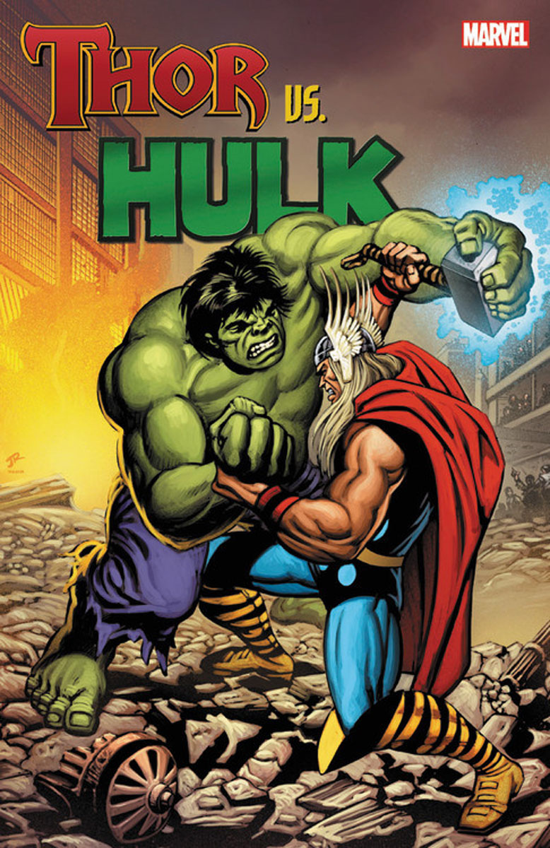 Thor Vs. Hulk marvel s the avengers encyclopediа