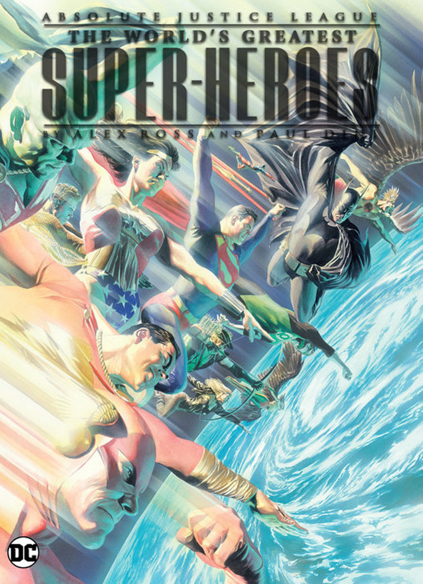 Absolute Justice League: The World's Greatest Superheroes by Alex Ross & Paul Dini king of seduction absolute цена