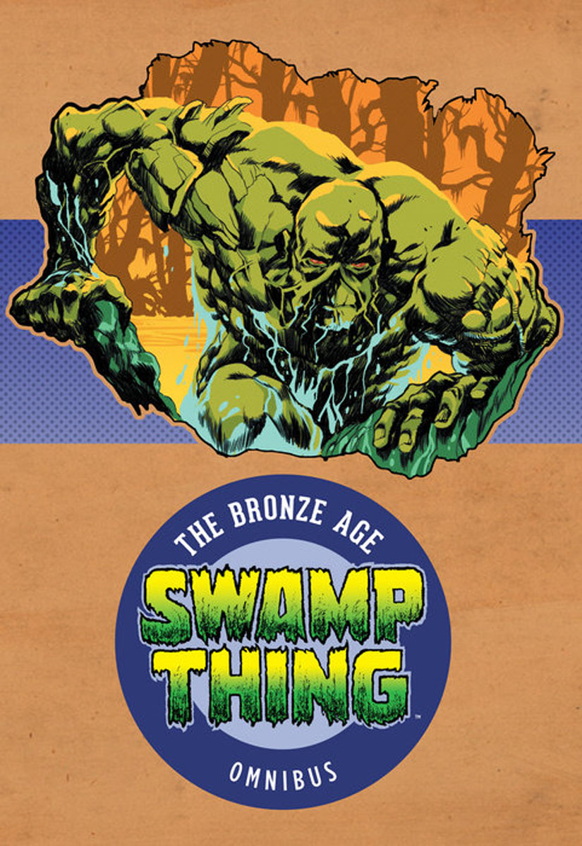 Swamp Thing: The Bronze Age Omnibus Vol. 1 saga of the swamp thing book four