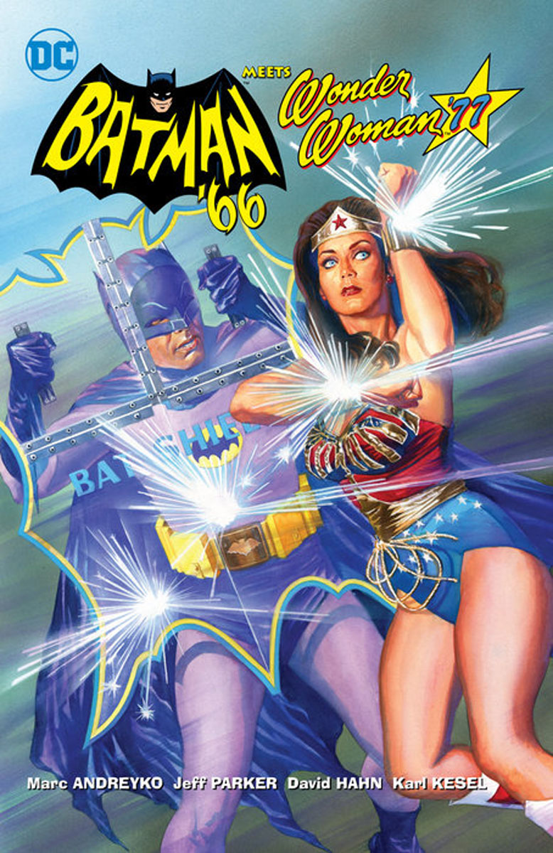 Batman '66 Meets Wonder Woman '77 batman 66 meets the man from u n c l e