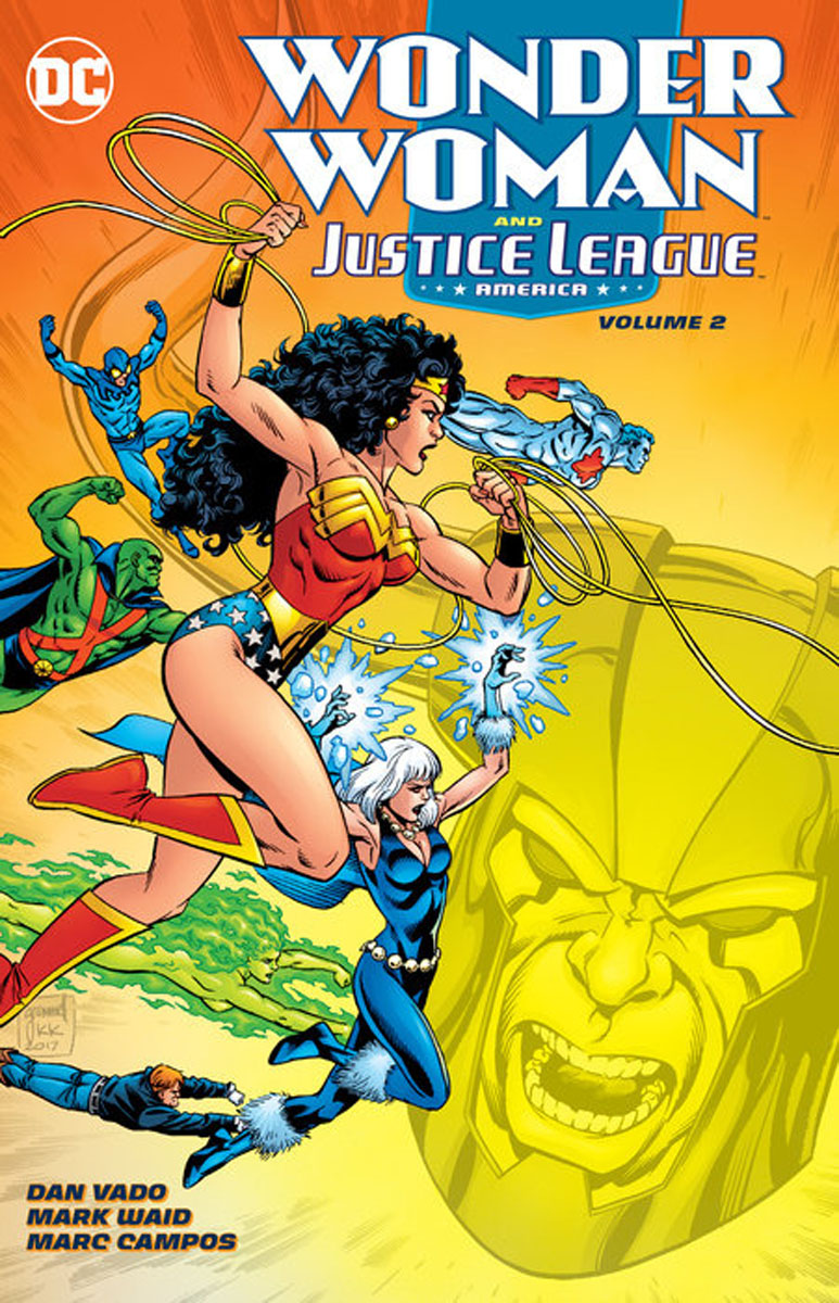 Wonder Woman & the Justice League America Vol. 2 justice league of america the silver age vol 3