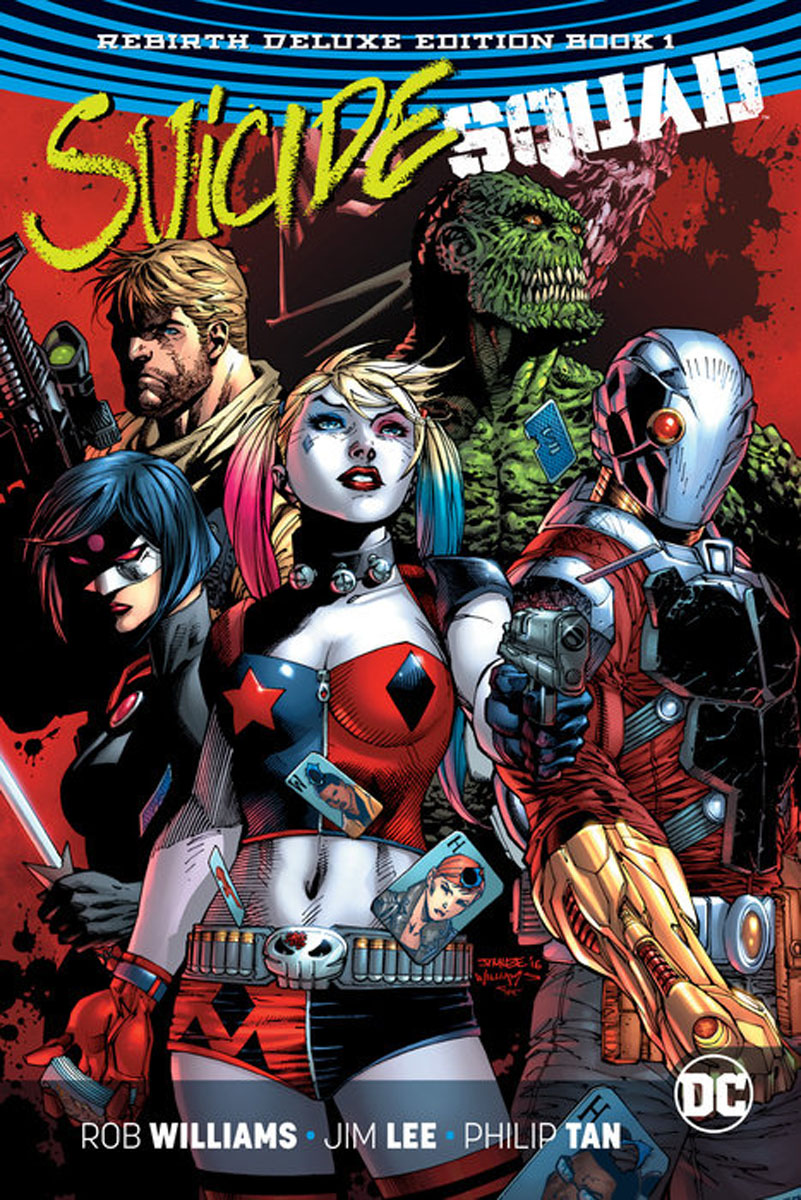 Suicide Squad: The Rebirth Deluxe Edition Book 1 nauti enchantress
