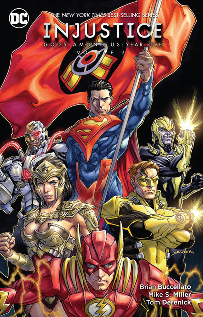 Injustice: Gods Among Us: Year Five Vol. 3 the rest of us just live here