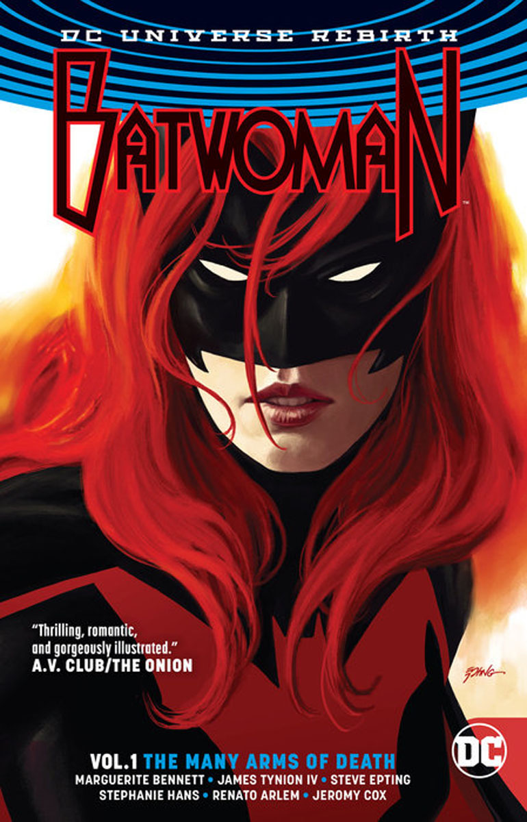 Batwoman Vol. 1: The Many Arms of Death (Rebirth) футболка quiksilver quiksilver qu192ebpew98