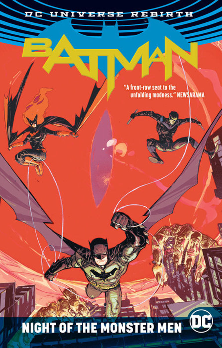 Batman: Night of the Monster Men the dark horse book of monsters