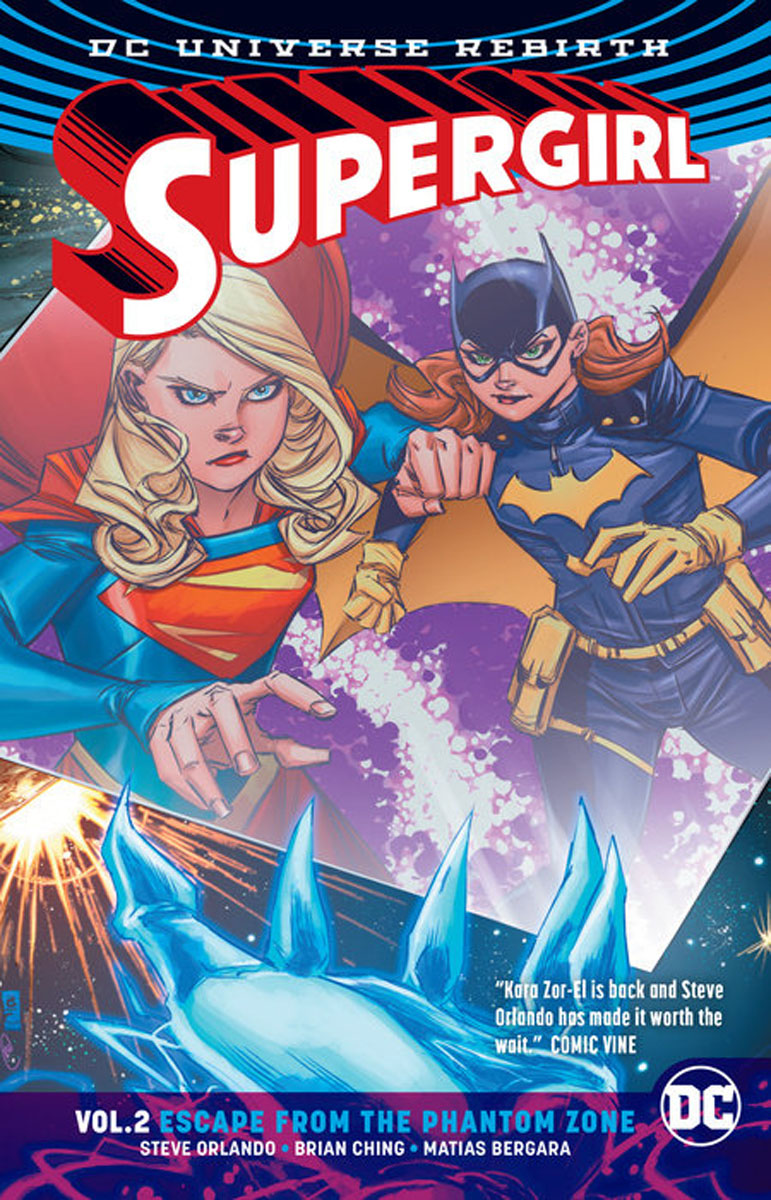 Supergirl Vol. 2: Escape from the Phantom Zone earth 2 world s end vol 2