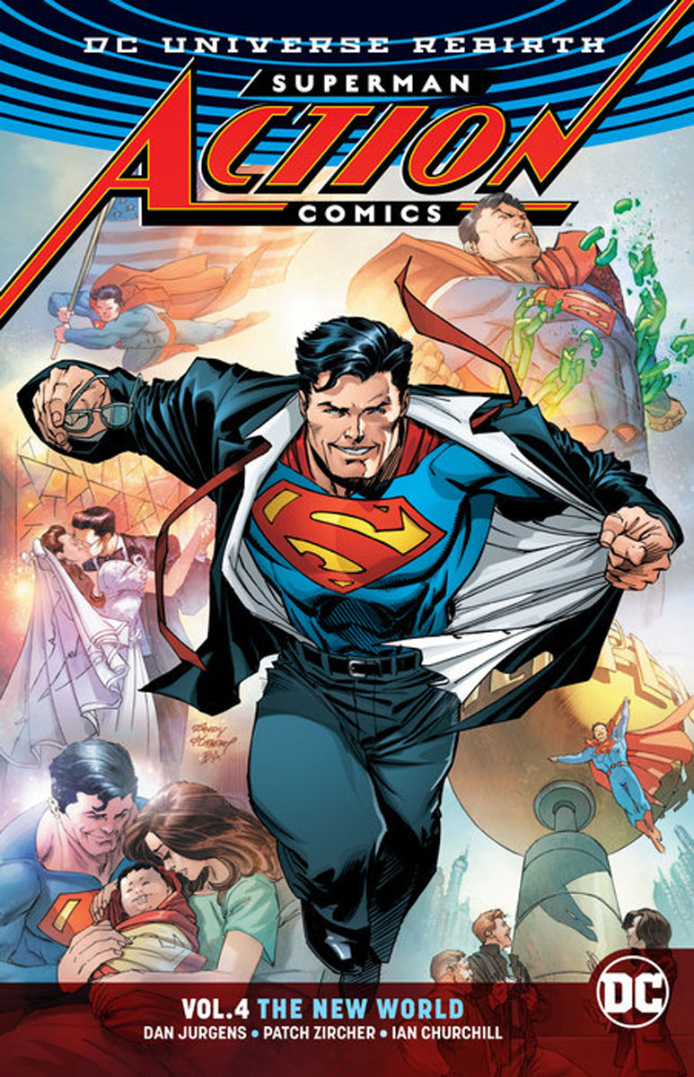 Superman: Action Comics Vol. 4 kent west and the weald