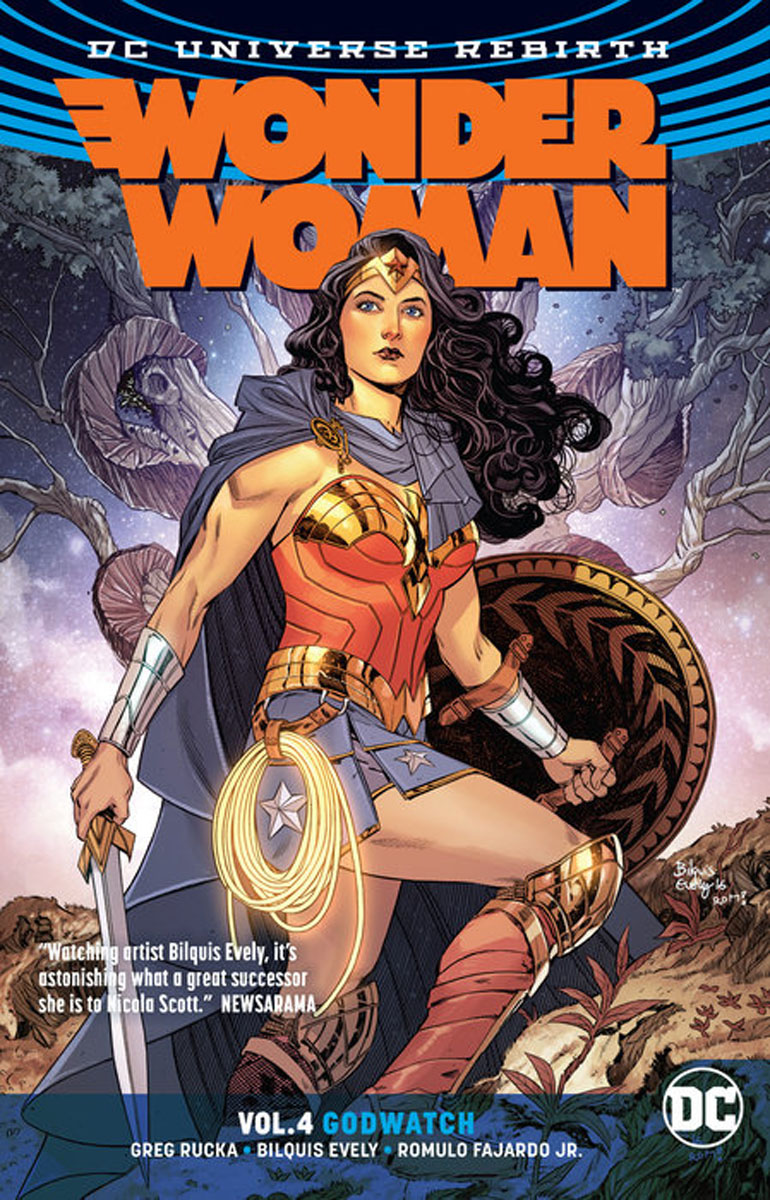 Wonder Woman Vol. 4: Godwatch (Rebirth) the woman who went to bed for a year
