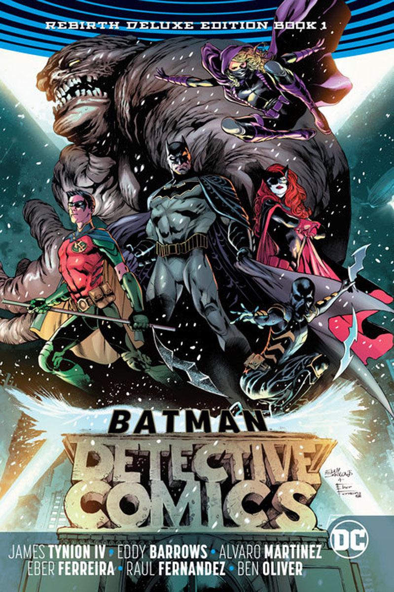Batman: Detective Comics: The Rebirth Deluxe Edition Book 1 batman detective comics volume 9 gordon at war