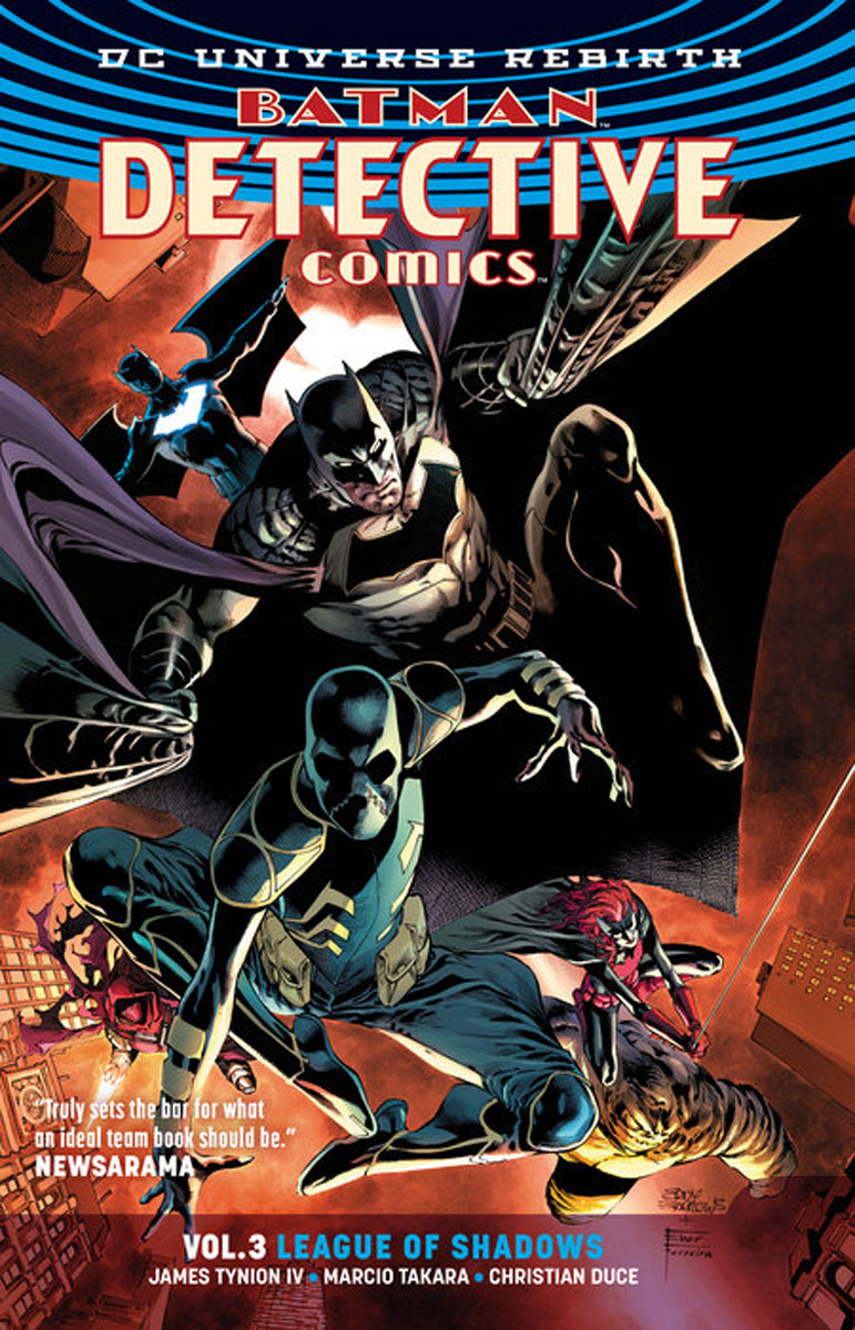 Batman: Detective Comics Vol. 3: League of Shadows (Rebirth) batman detective comics vol 3 emperor penguin the new 52