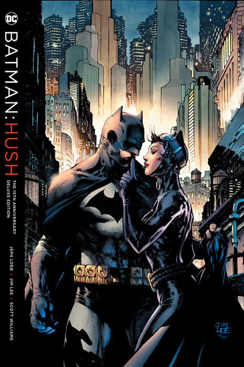 Batman: Hush 15th Anniversary Deluxe Edition the little book of batman