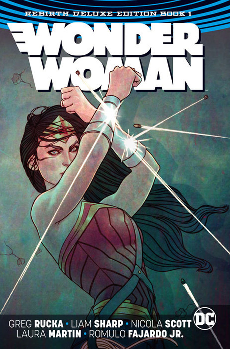 Wonder Woman. The Rebirth Deluxe Edition. Book 1 a sense of wonder