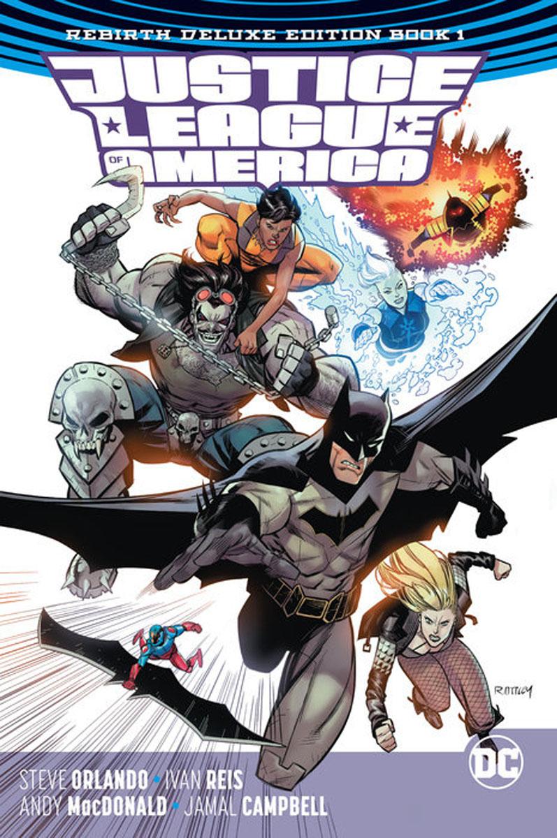 Justice League of America: The Rebirth Deluxe Edition Book 1 restorative justice for juveniles