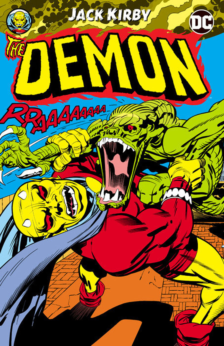 The Demon by Jack Kirby cover run the dc comics art of adam hughes