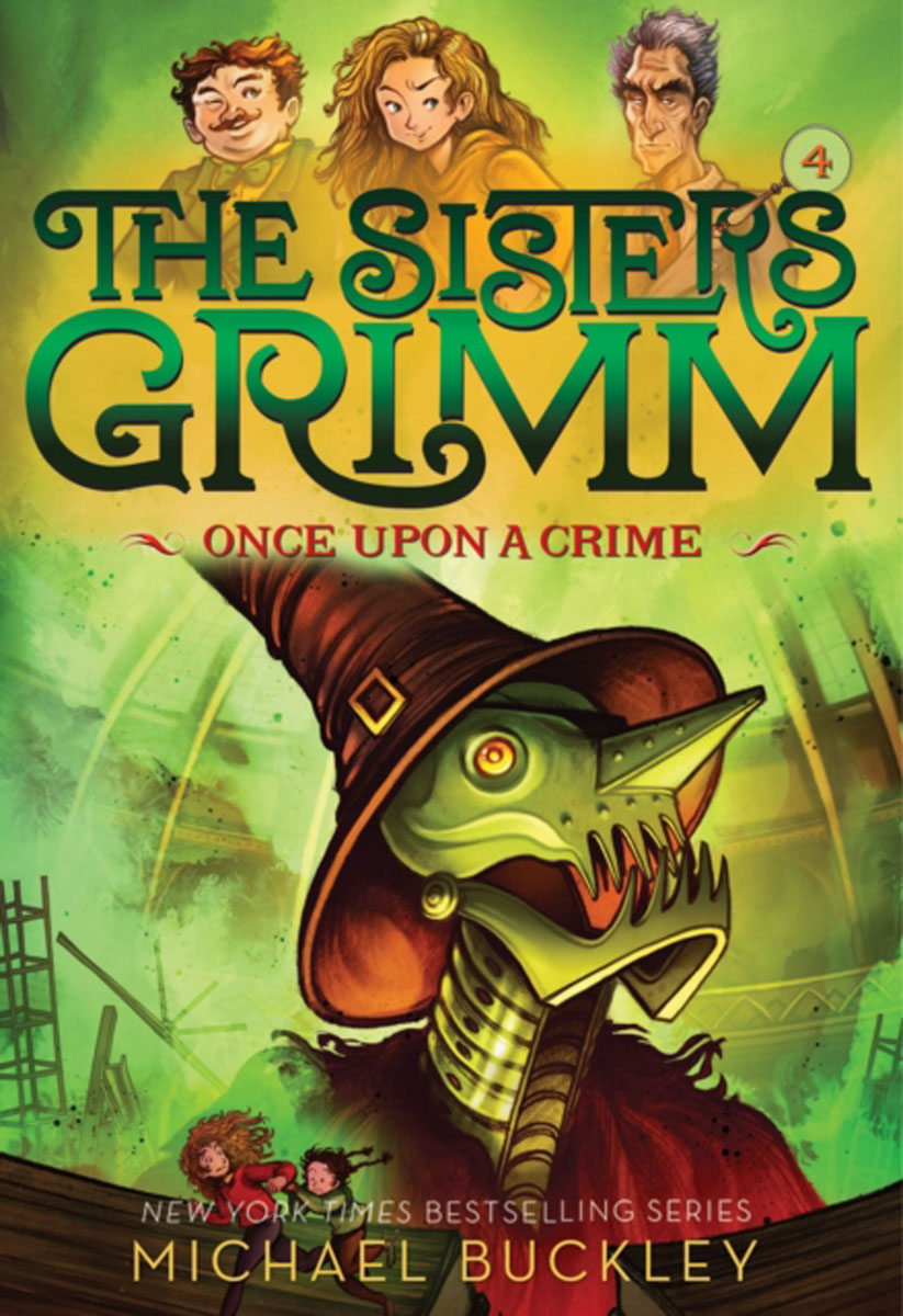 Once Upon a Crime (The Sisters Grimm #4) who were the brothers grimm