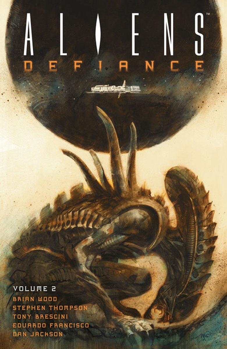 Aliens: Defiance Volume 2 bischoffd the complete aliens omnimbus volume two