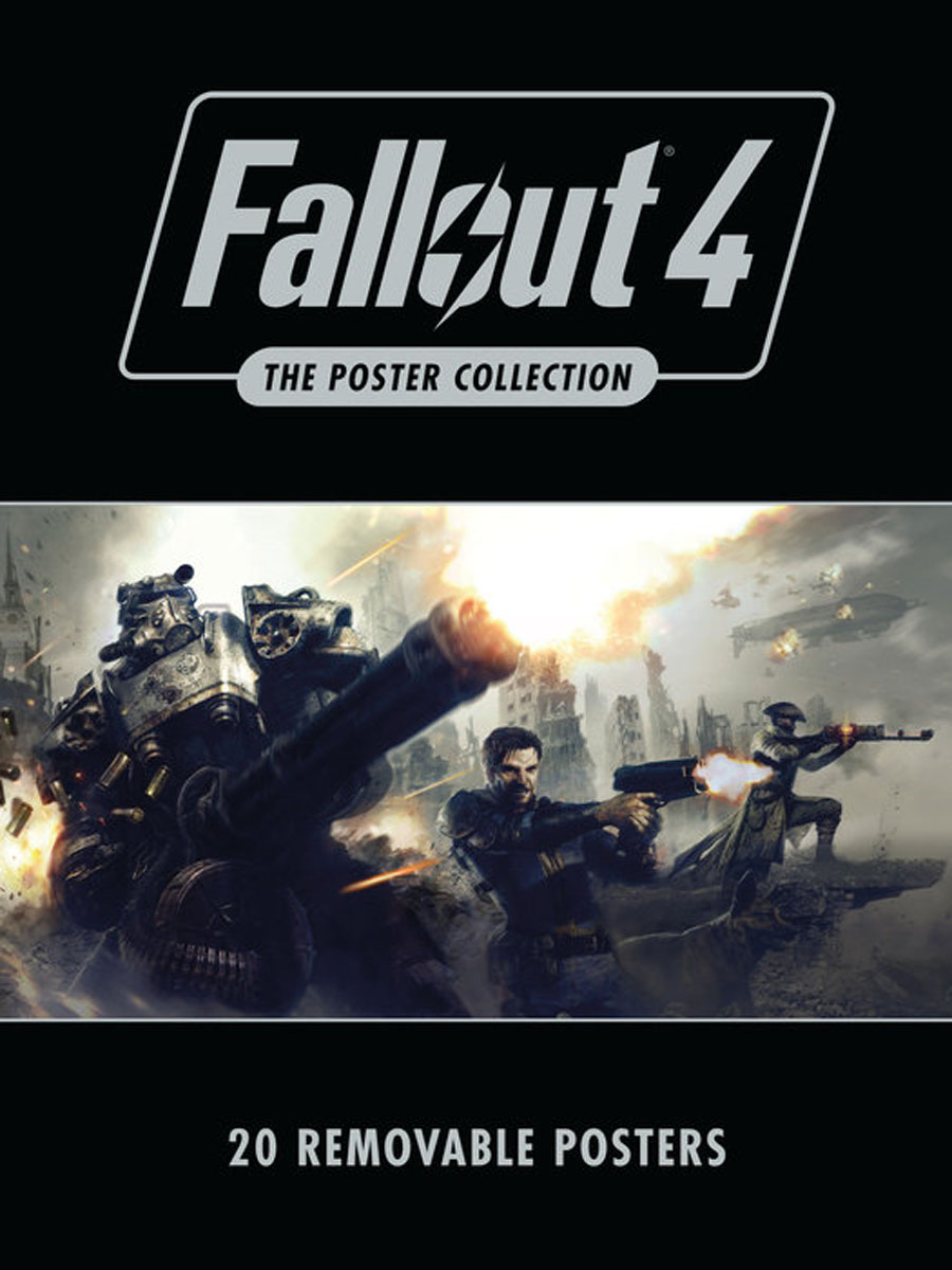 Fallout 4: The Poster Collection fallout 4 game of the year edition [xbox one]