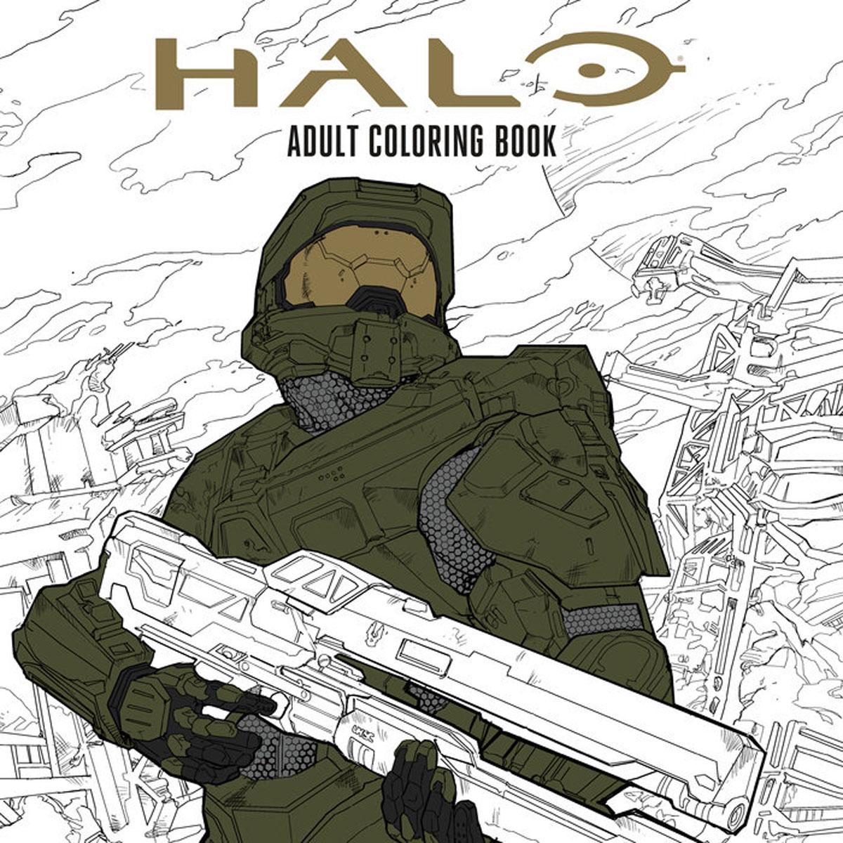 halo volume 2 escalation Halo Coloring Book
