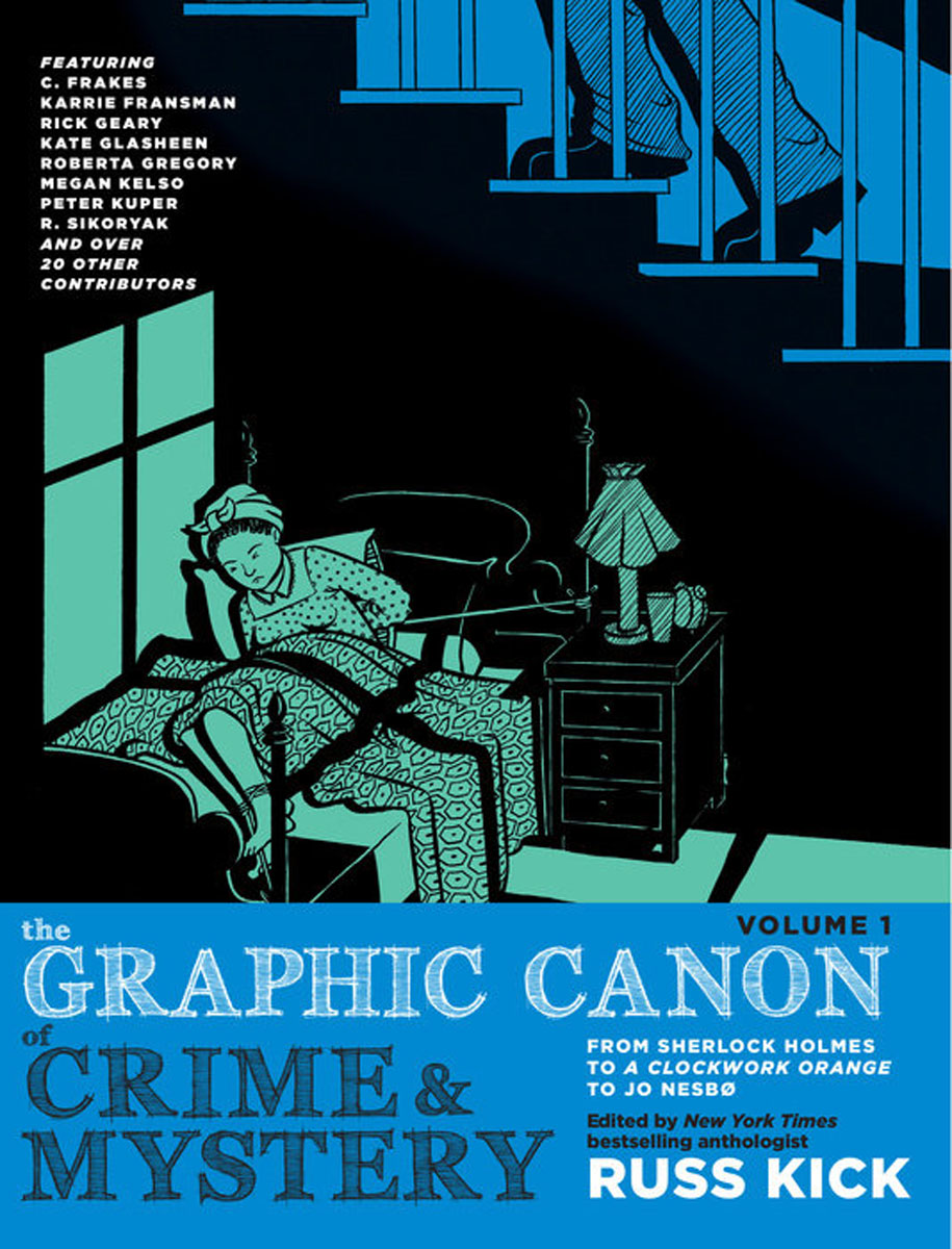 The Graphic Canon of Crime and Mystery, Vol. 1 dubliners