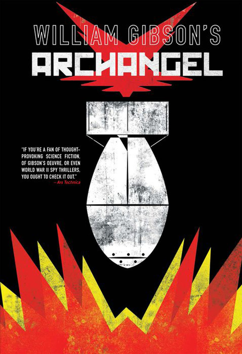 William Gibson's Archangel archangel anael logos of the void