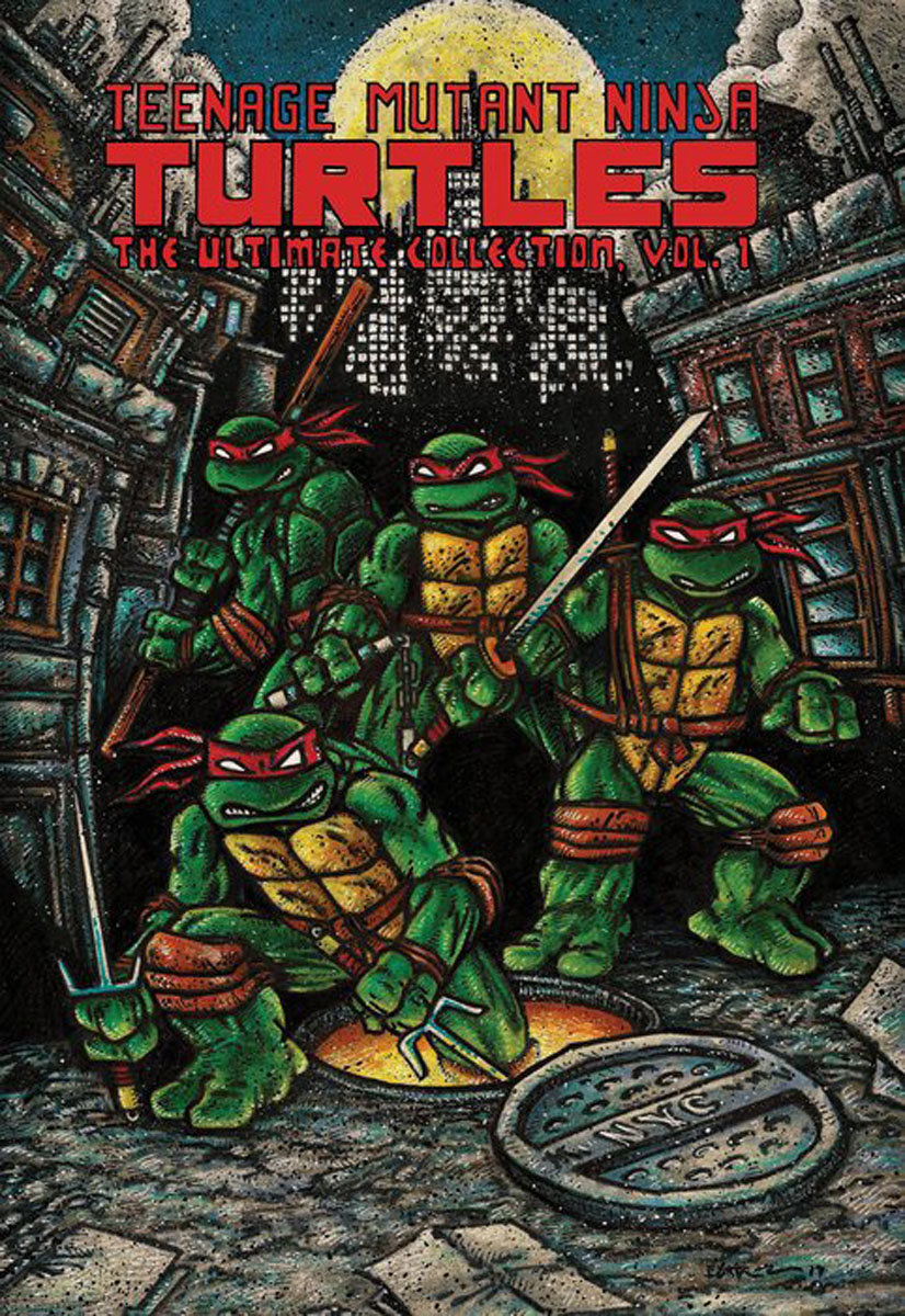 Teenage Mutant Ninja Turtles: The Ultimate Collection, Vol. 1 powers the definitive hardcover collection vol 7
