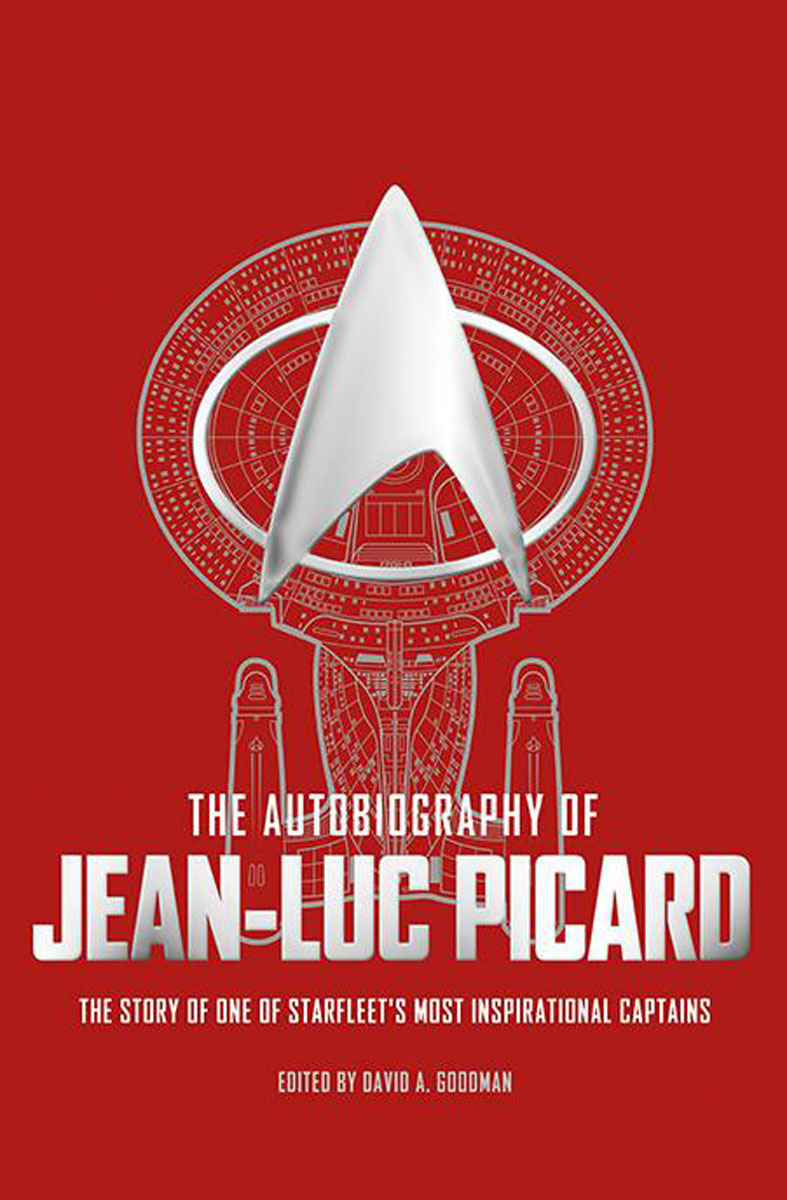 The Autobiography of Jean-Luc Picard picard портмоне picard 8828 043 055 cafe