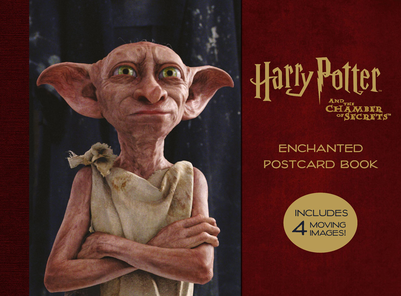 Harry Potter and the Chamber of Secrets Enchanted Postcard Book купить