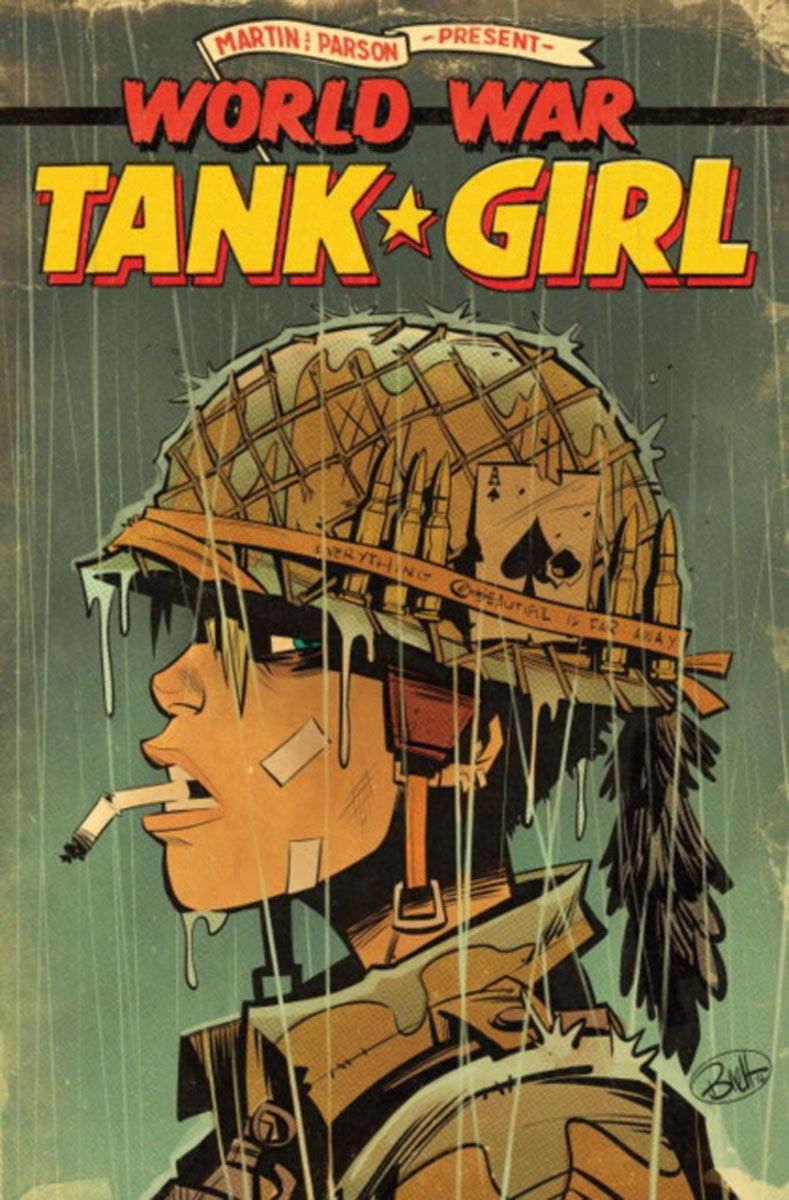 Tank Girl: World War Tank Girl art of war