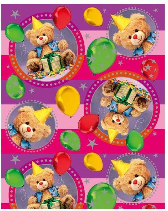 Eureka Пакет подарочный Мишка с подарком 26 x 32,5 x 12,5 см EUL/150315 -  Подарочная упаковка
